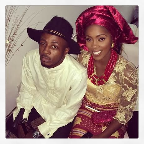 Tunde Ednut and Tiwa savage