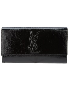 yves-saint-laurent-black-logo-clutch