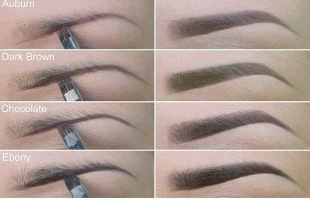 Makeup: How to choose an Eyebrow Colour – Dupri\'s Glam