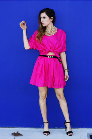 hot-pink-vintage-top-hot-pink-vintage-skirt